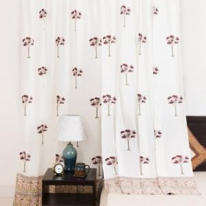 off-white-mull-printed-aishani-curtain-window - curtains-and-blinds