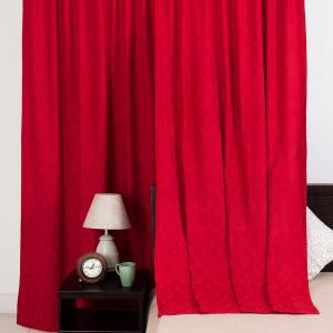 wine-cotton-woven-sumaira-curtain-window - curtains-and-blinds
