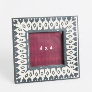 mdf-wood-resin-ikkat-frame - photo-frames