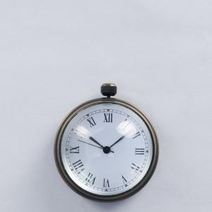 brass-glass-clock - wall-clocks