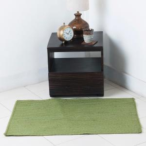 green-natural-woven-girija-dhurrie - rugs-and-carpets