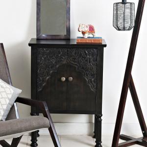 antique-mango-wood-richard-rectangle-mirror - mirrors-and-jharokhas