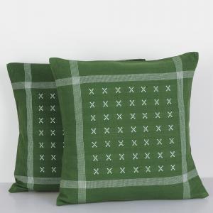 green-cotton-woven-nakum-cushion-cover - cushions-and-pillows