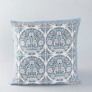 blue-cotton-printed-shiryan-cushion-cover - cushions-and-pillows