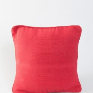red-cotton-woven-cushion-cover - cushions-and-pillows