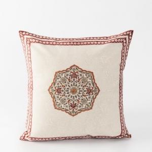 maroon-cotton-printed-sanav-cushion-cover - cushions-and-pillows