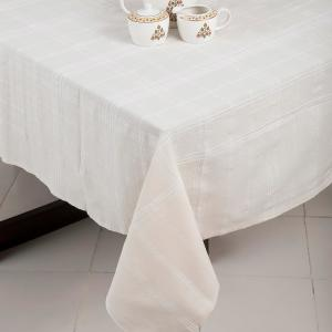 off-white-cotton-woven-sherkote-table-cover - table-linen-and-accessories
