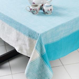 green-cotton-woven-aalee-table-cover - table-linen-and-accessories