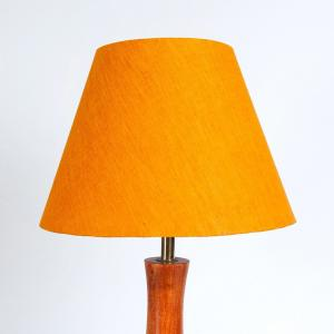 yellow-cotton-basix-table-lamp-shade - table-lamps