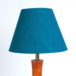 green-cotton-basix-table-lamp-shade - table-lamps