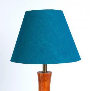 green-cotton-basix-table-lamp-shade - table-lamps