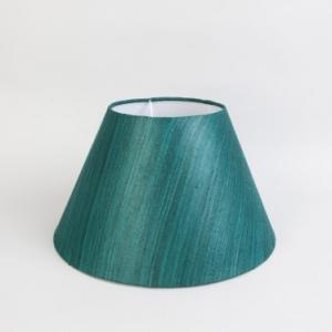 green-silk-cotton-basix-table-lamp-shade - table-lamps