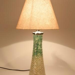 glass-metal-nishant-mosaic-table-lamp - table-lamps