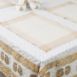 beige-cotton-woven-razia-table-mat-set-of-6 - table-linen-and-accessories