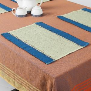 green-cotton-woven-zeeya-table-mat-set-of-6 - table-linen-and-accessories