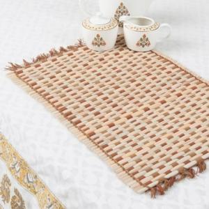 brown-bamboo-woven-aditi-table-mat - table-linen-and-accessories