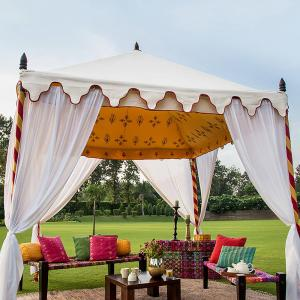 iron-canvas-shamiyana-tent - screens-and-room-partitioners