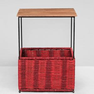 metal-mango-wood-jute-blithe-accent-table - tables