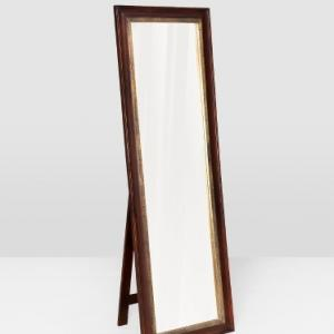 mango-wood-embossed-razia-floor-mirror - mirrors-and-jharokhas