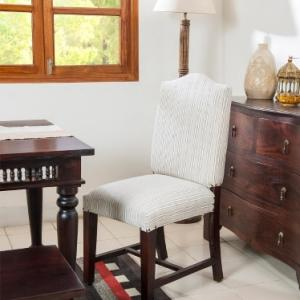 sheesham-wood-upholstered-amer-chair - dining-tables-and-chairs