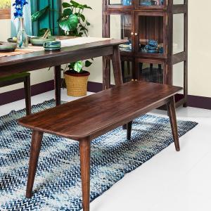 sheesham-wood-liniya-bench - benches-stools-ottomans