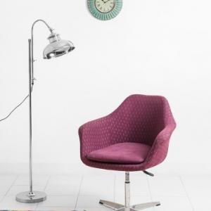 metal-upholstered-plum-chair - chairs