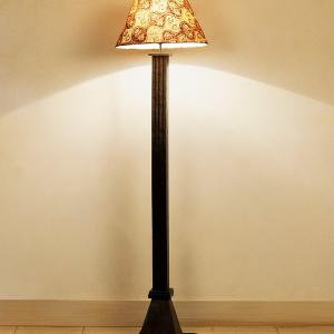mango-colonial-pedestial-floor-lamp - floor-lamps
