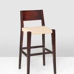 sheesham-wood-jura-bar-jute-chair - bar-furniture