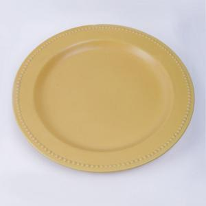 yellow-marigold-yellow-ceramic-plate - dining-essentials
