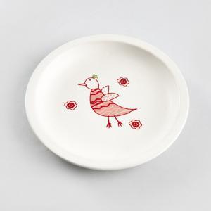 yellow-ceramic-tookie-bird-snack-plate - kids-dining