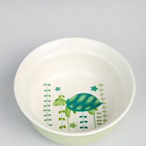 green-ceramic-kachua-cereal-bowl - kids-dining