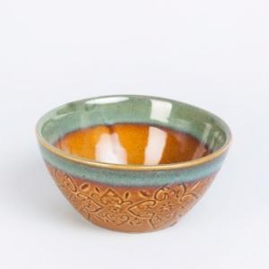 ceramic-sadyanta-glazed-nut-engraved-bowl - dining-essentials