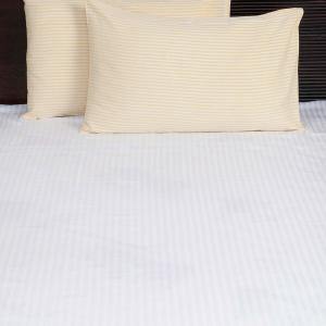 yellow-cotton-woven-twill-pillow-cover - bed-linen