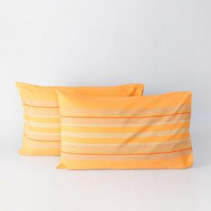 yellow-cotton-woven-samrit-pillow-cover - bed-linen