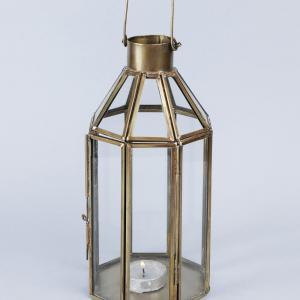 glass-metal-lantern - lanterns