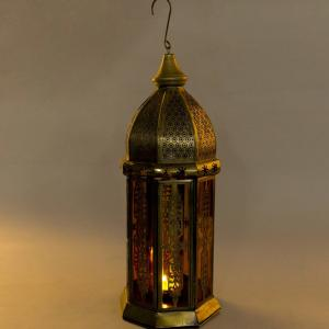 metal-glass-lantern - lanterns