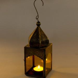 metal-glass-table-small-hanging-lantern - lanterns