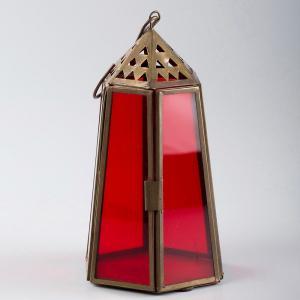 metal-glass-table-lantern - lanterns