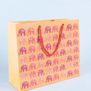 elephant-print-paper-bag - gifts