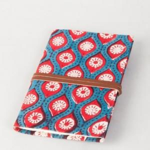 fabric-paper-grid-packing-note-book - gifts