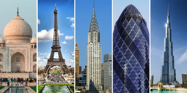 The World's 5 Most Famous Architectural Buildings