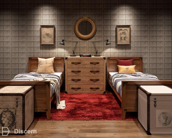 industrial-chic trendy-industrial bed-room