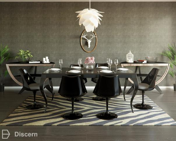 a-trendy-eclectic-taste trendy-eclectic dining-room