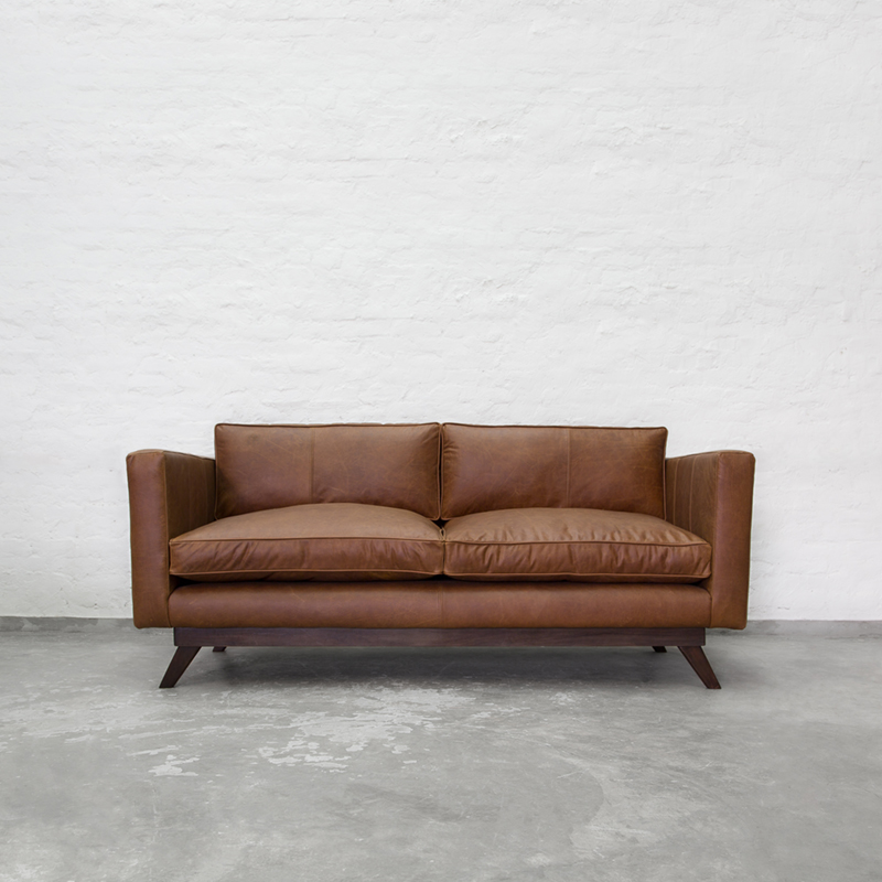 Buy Colton Leather Sofa Collection Chestnut Sofas Recliners