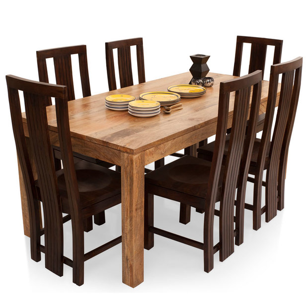 Dining Table Seats 6: Capra 6 Seater Dining Table Set